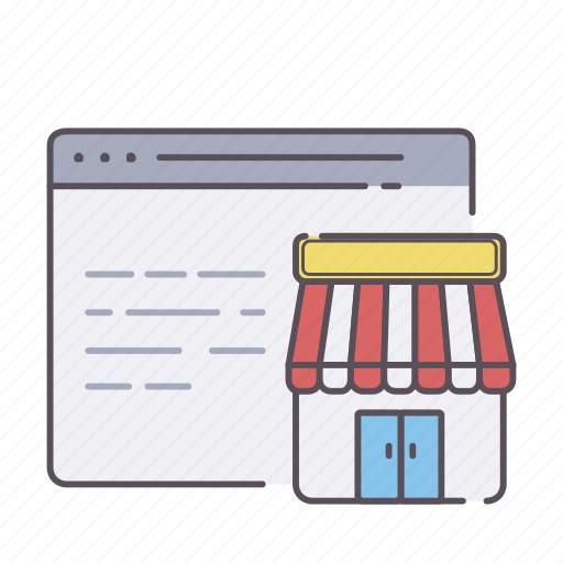 business, chart, ecommerce, shopping, store, web icon