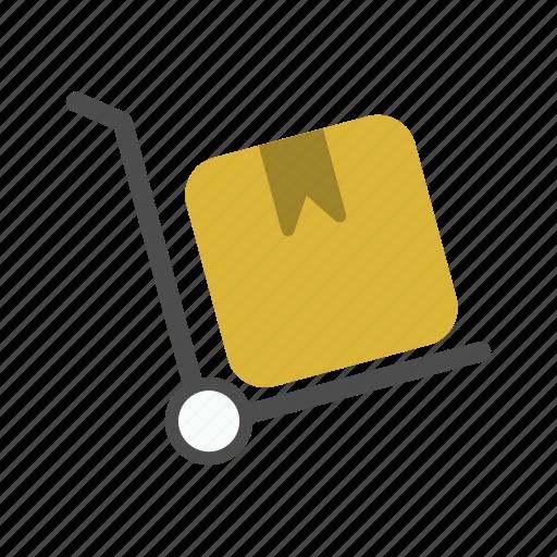 breifcase, retail, shop, trolley icon