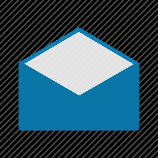 envelope, inbox, message icon