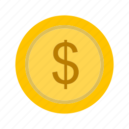 coin, dollar, euro icon