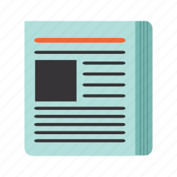 document, letter, news, page, paper icon