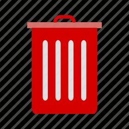 basket, dust bin, e commerce, recyle bin icon