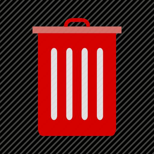 basket, dust bin, recyle bin, trash icon