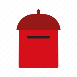 mail, mail box, post box, postal icon