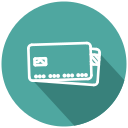 card, credit card, debit card, mastercard, payment, visa, withdraw money icon