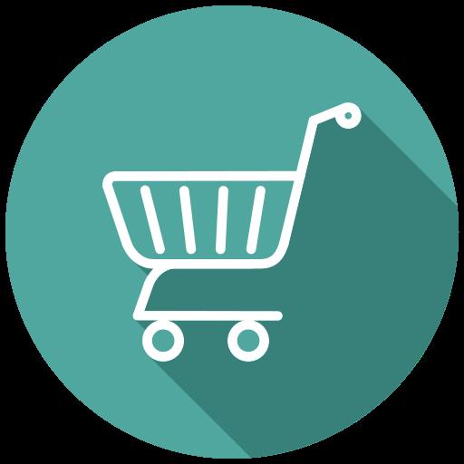 basket, cart, purchase, shop, shopping, shopping cart, shopping trolleys icon