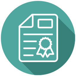 certificate, commerce, invoice, safe transaction, trade, withdraw money icon