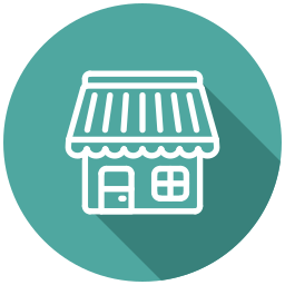 bakery, cafe, eshop, market, shop, store icon
