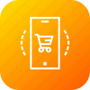cart, discount, ecommerce, finance, mobile, profit, shop icon