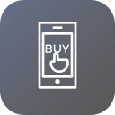 buy, device, mobile, online, sale, store, touch icon