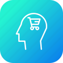 cart, discount, human, mind, shop, shopping, user icon