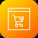 cart, discount, finance, offer, profit, shop, window icon