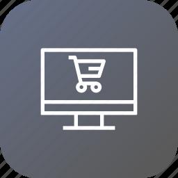 cart, device, discount, finance, profit, sale, shop icon