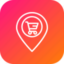 cart, ecommerce, finance, location, navigation, offer, sale