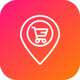 cart, ecommerce, finance, location, navigation, offer, sale icon