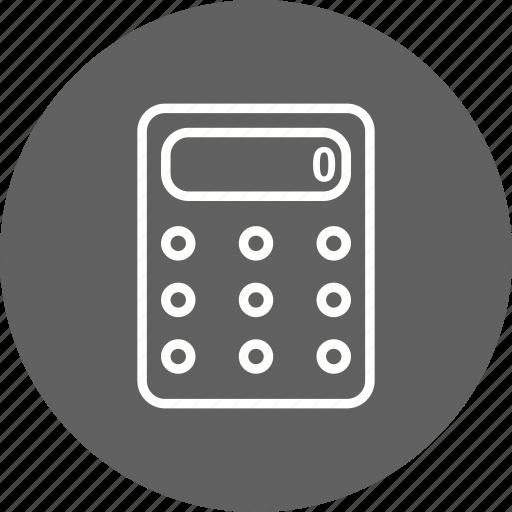 calculate, calculation, calculator icon