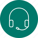 headphone, headphones, headset icon