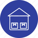 box, crate, storage unit, warehouse icon