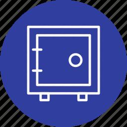 bank vault, locker, safe, vault icon