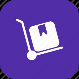 market, retail, shop, store, trolley icon