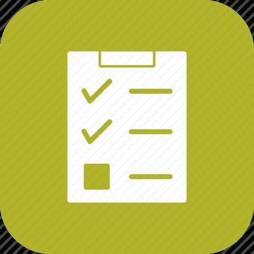 check list, checklist, list icon