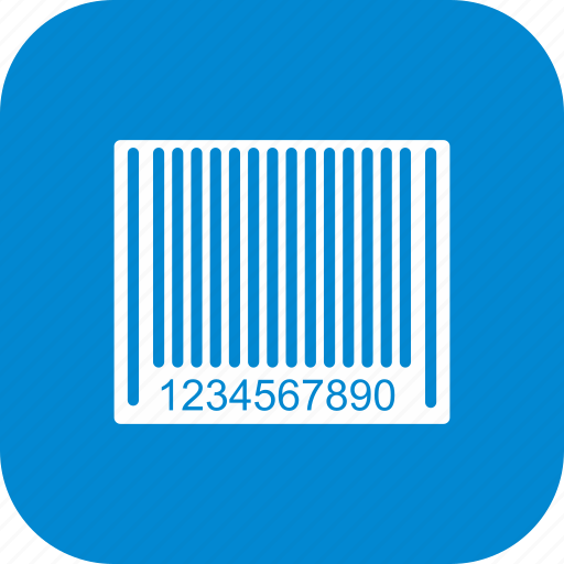 bar code, barcode, product label icon