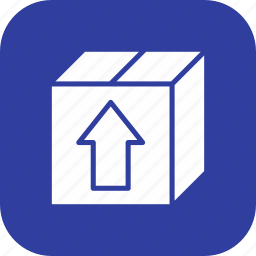 cargo box, package, parcel icon