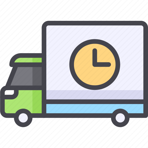 delivery, delivery truck, lorry, transport icon