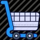 cart, chart, shopping, stroller, trolley, trolleys
