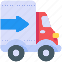 cargo, delivery, transportation, truck