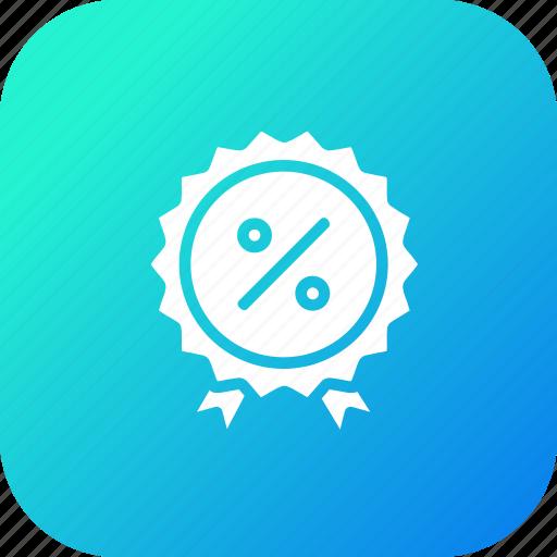 award, badge, ecommerce, finance, profit, ratio, winner icon