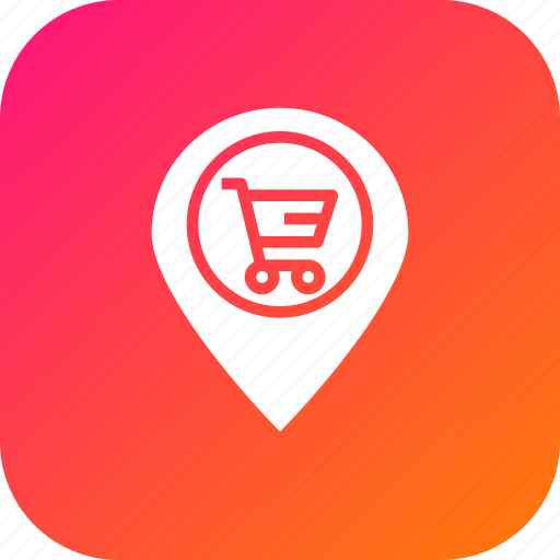 cart, ecommerce, finance, locate, location, navigation, offer icon