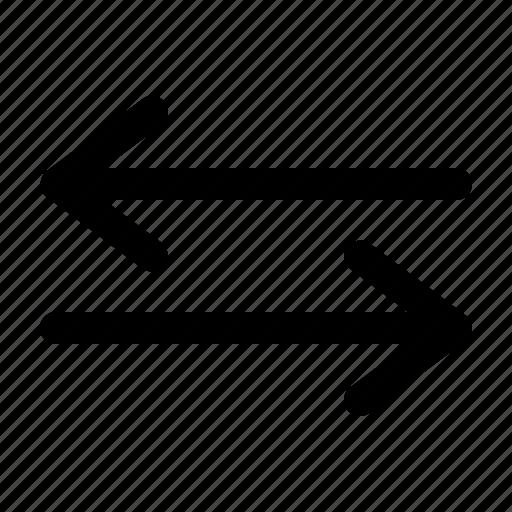 arrow, arrows, buy, sell, transaction icon