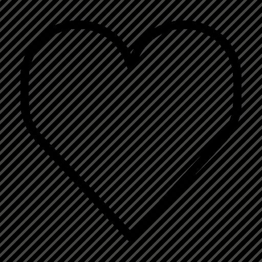 fav, favorite, heart, like, love icon