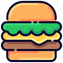 bukeicon, burger, category, ecommerce, food, online, shop