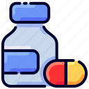 bukeicon, ecommerce, health, medicine, pill, shopping, tablet icon