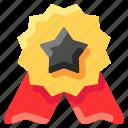 award, badge, bukeicon, medal, star icon