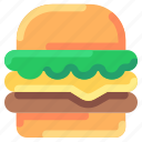 bukeicon, burger, category, ecommerce, food, online, shop icon