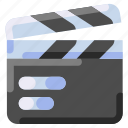 bukeicon, ecommerce, film, movie, production, video, watch icon