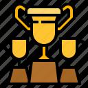 advantage, award, competition, trophy