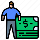avatar, banknote, capital, economic, human