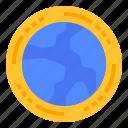 economic, global, international, world icon