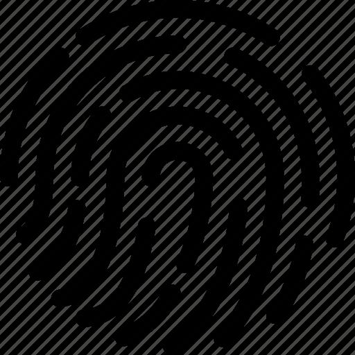 Biometric, finger, fingerprint, scan, security icon - Download on Iconfinder