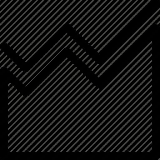 analytics, chart, correlation, graph, statistics icon