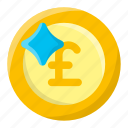 coin, currency, economy, money, pound, pound sterling, sterling icon