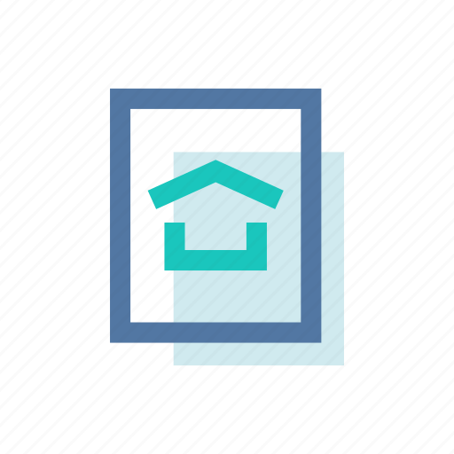 home, homescreen, house, roof, screen, welcome icon