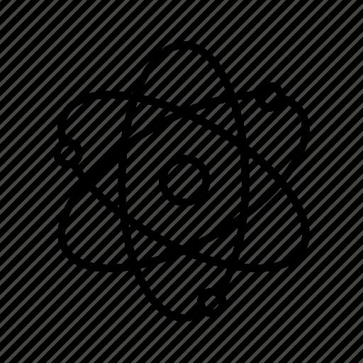 atom, chemistry, physics, study icon