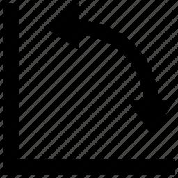angle, design, edit, graphic, graphics, mesure, tool icon