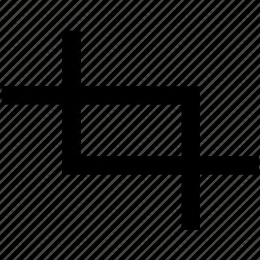 crop, design, edit, graphic, graphics, tool icon