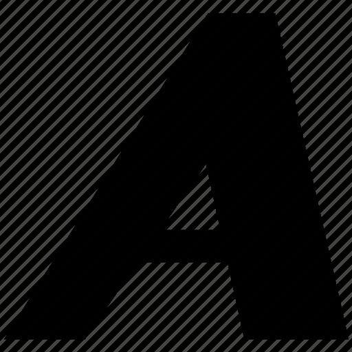 a, edit, graphics, italic, italics, text, tool icon